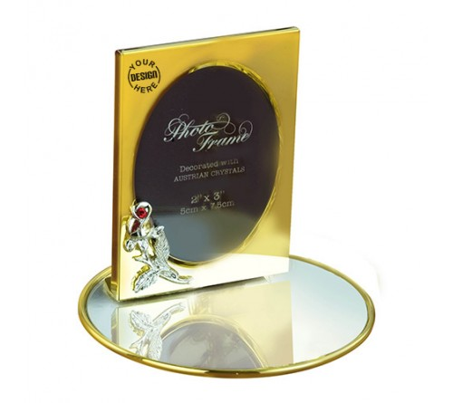 Gold Plated Photo Frame