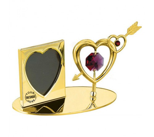 Photo Frame Double Heart Arrow