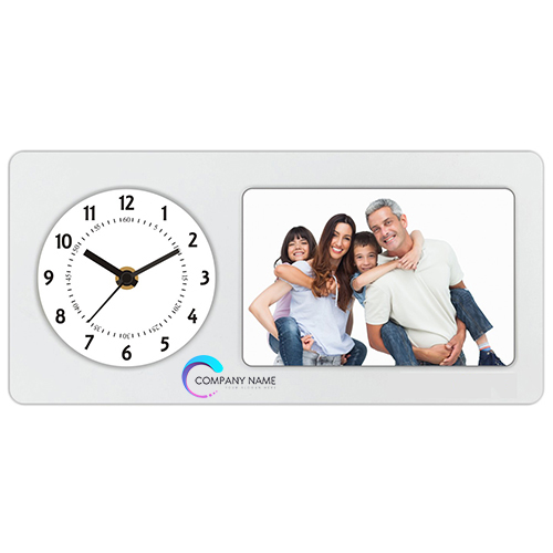 Customized Photo Frame with Clock