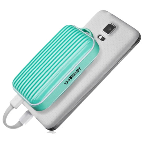 Briefcase Shape Power Bank 5200 mAh