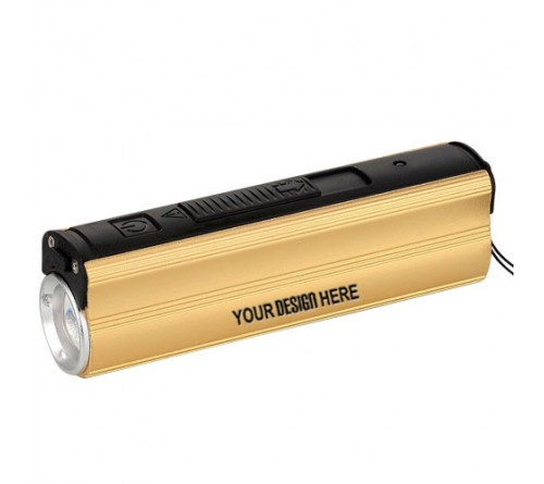 Metal Power Bank with Lighter Torch Blinker