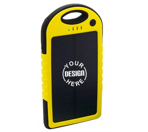 Waterproof Power Bank Solar 4000 maAh