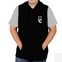 Sleeveless Sweat Jacket Black