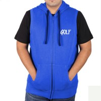 Sleeveless Sweat Jacket Royal Blue