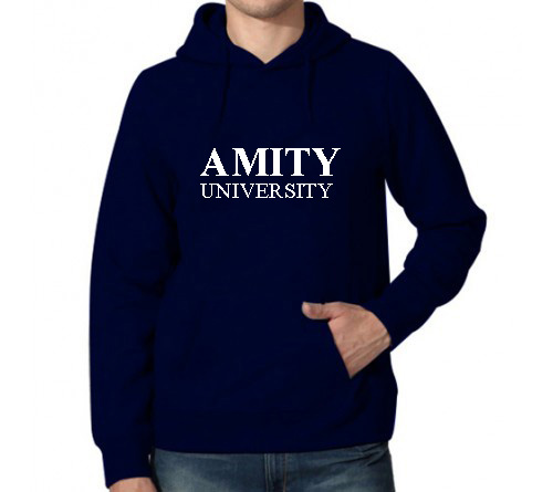 Printed Hoodies Navy Amity