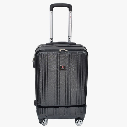 Swiss Military 20 Inch Trolley bag with External Laptop Compartment