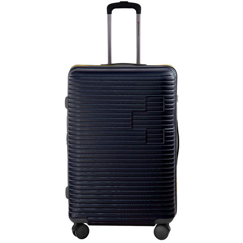 Swiss Military Evolution Navy Blue Hard Sided Luggage
