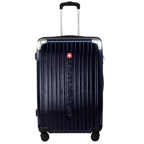 Swiss Military Evolution2 Navy Blue Hard Sided Luggage