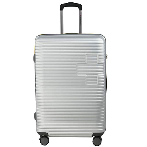 Swiss Military Evolution Silver Hard Sided Luggage