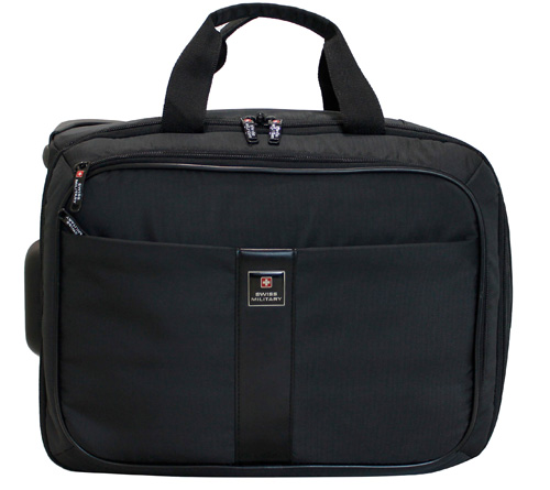Swiss Military Laptop Briefcase cum Trolley Bag