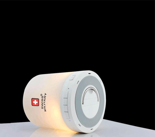 Swiss Military Smart Touch Lamp with Bluetooth speaker