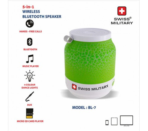 Swiss Military Five In One Bluetooth Speaker