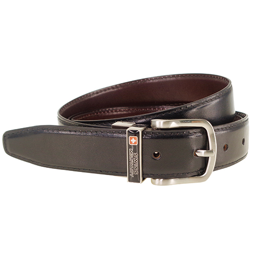 Swiss Military Leather Belt