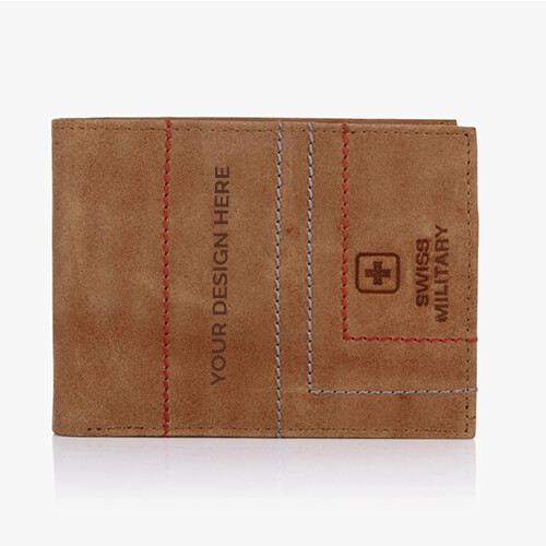 Swiss Military Genuine Leather Men Wallet