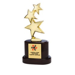 3 Star Spinner Trophy