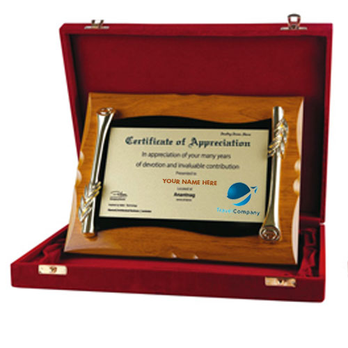 Classic Award with Wooden Box