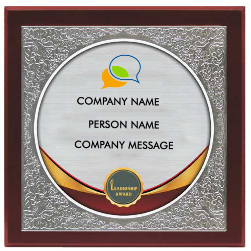 Corporate Wooden Plaque