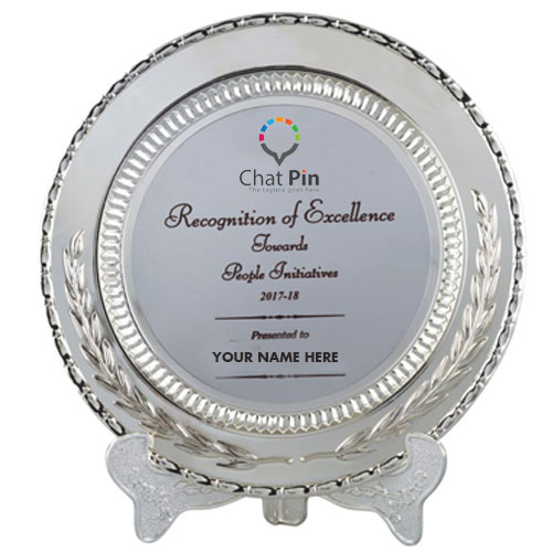 Silver Achiever Trophy