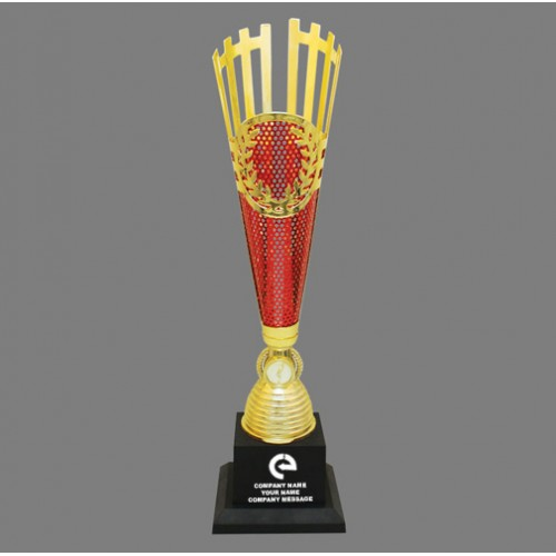 Golden Red Customized Trophy IT-3541