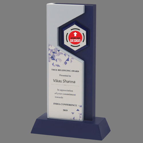 Customizable Wooden Corporate Award