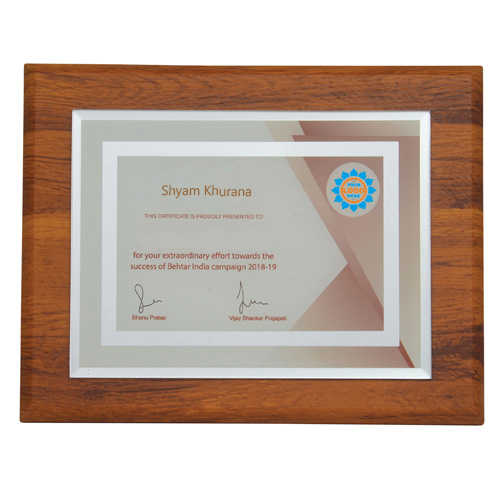 Wooden Business Plaques
