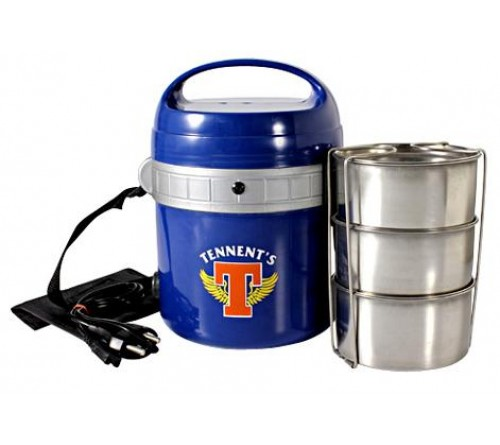 Electric Tiffin With 3 SS Containers