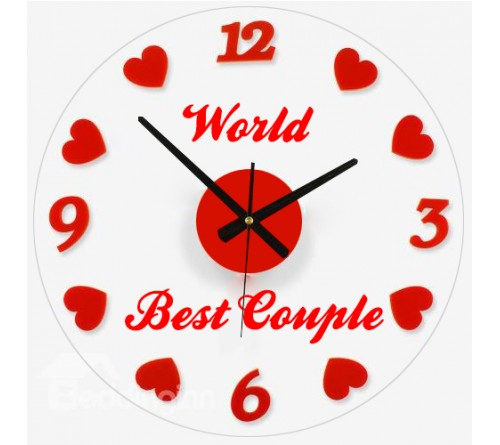 Best Couple Clock