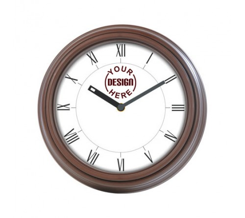 Wooden Wall Clock Round