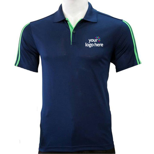 Adidas Personalized Side Strip Polo T-Shirts