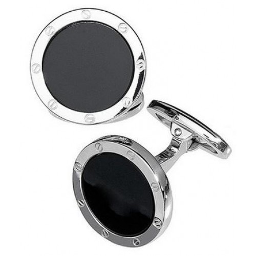 Round Screw Detail Cufflinks 27
