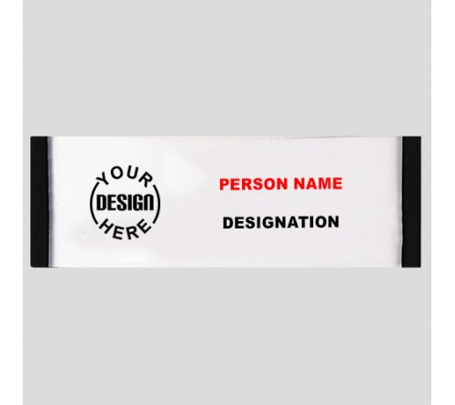 Personalised Rectangle Badge