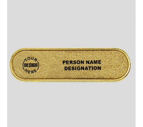 High End Custom Golden Badge