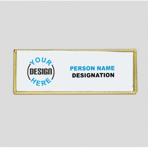 Professional Design Custom Badge