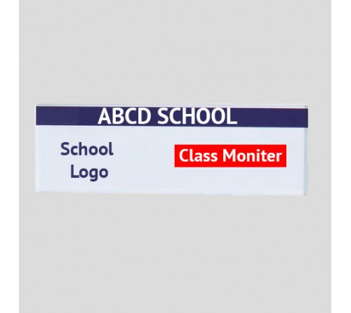 Class Monitor Name Badge