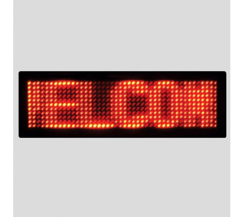 Electronic LED Light Badge