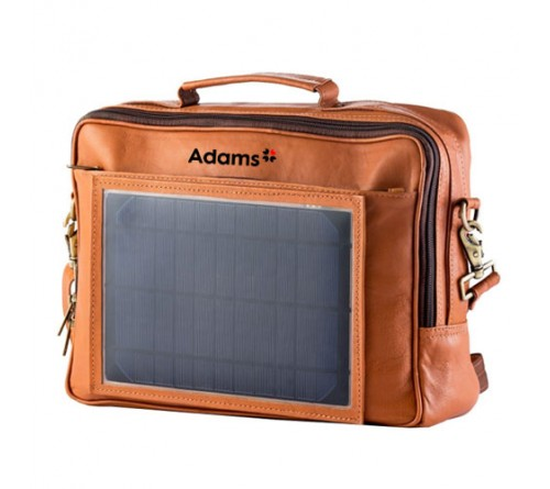 Business Solar Bag Brown