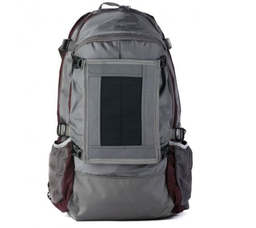 Sports Solar Backpack Shoulder Bag