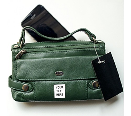 Green Color Wallet For Woman