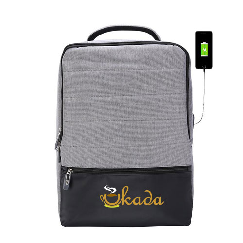 High Capacity USB Anti-Theft Backpack