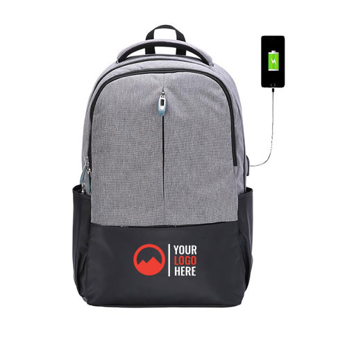 USB City Backpack for Men