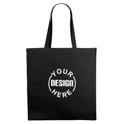 Personalized Canvas Tote Bag with Gusset