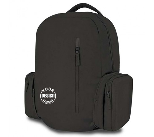Folding backpack with hard case
