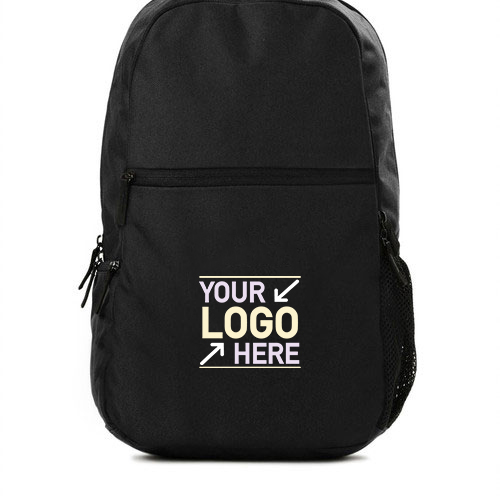 Casual Laptop Black Color Backpack