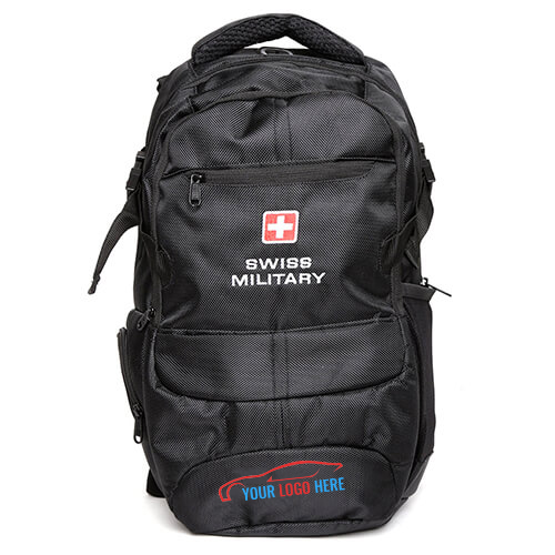 Swiss Military Black Backpack