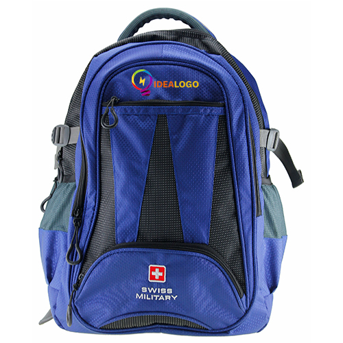 Swiss Military Blue Backpack Bag