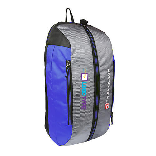Swiss Military Blue Duffle Cum Backpack