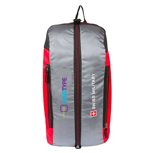 Swiss Military Red Duffle Cum Backpack