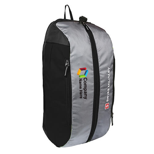 Swiss Military Gray Duffle Cum Backpack