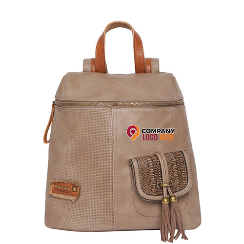Swiss Military Women Backpack Beige