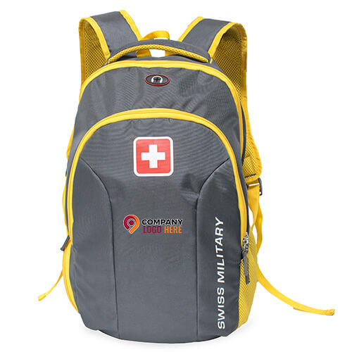 Swiss Military Yellow Backpack